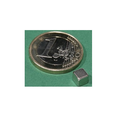 5 stuks 5 mm Kubus Neodym Magneten