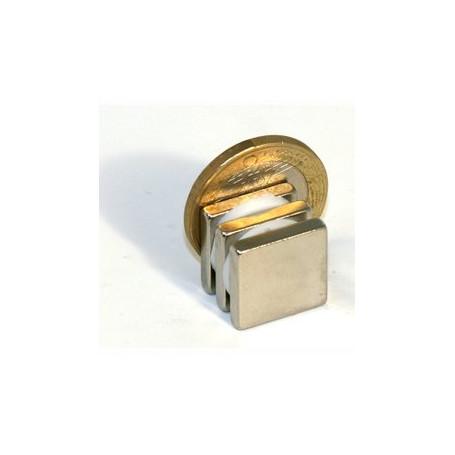 5 stuks 15 mm x 15 mm x 3 mm Neodym Magneten