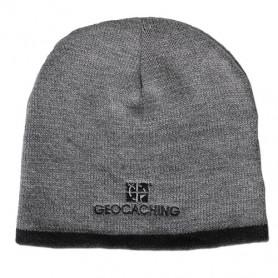 Groundspeak Logo Knit Beanie - grey