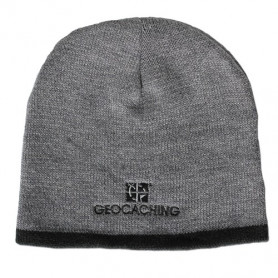 Groundspeak Logo Knit Beanie - grey