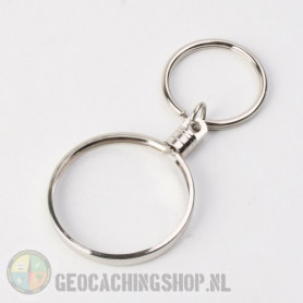 Coin ring Silver 38mm