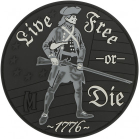 Maxpedition - Badge Live free or Die - Swat