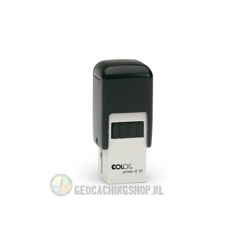 Log stempel - Printer - 12x12 mm - Eigen tekst/logo