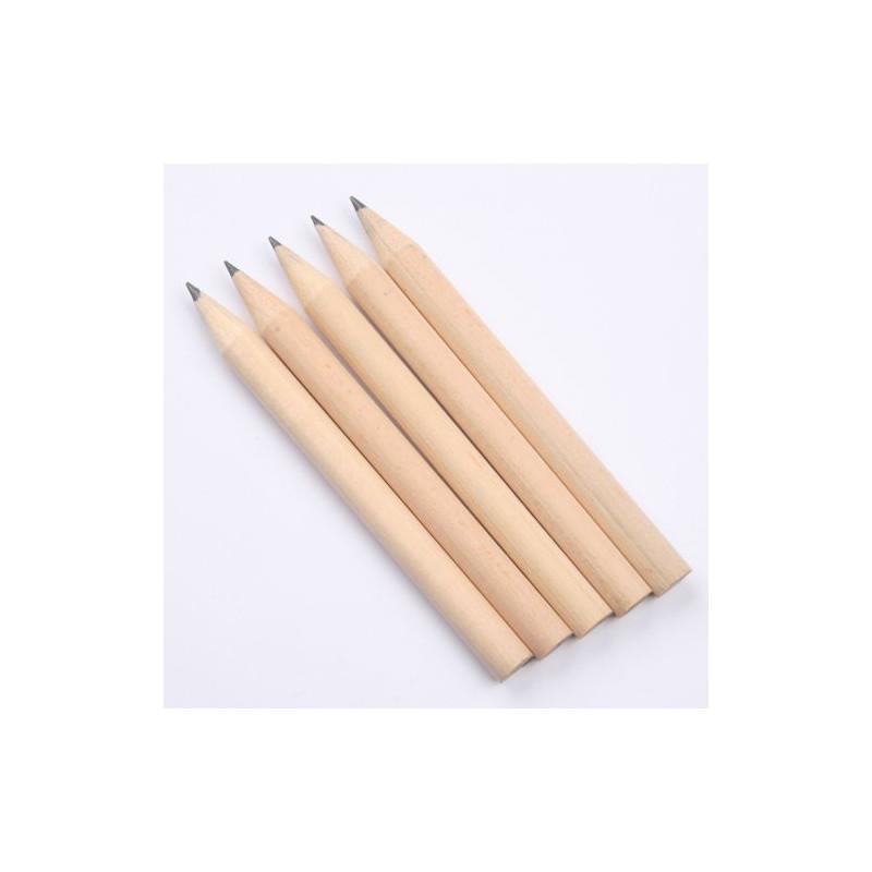 Potlood klein blanco, set van 5