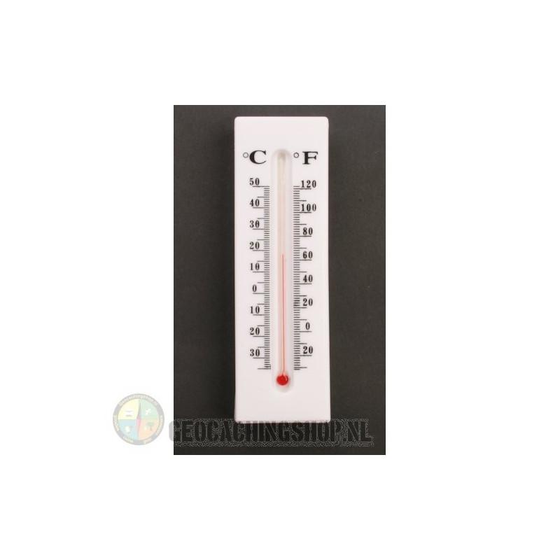 Thermometer Geocaching-Versteck