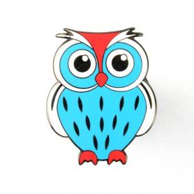 Owl Geocoin - Papa Smurf V2