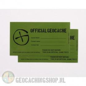 Cache Sticker   Extra Klein - 4,2 x 7,5 cm