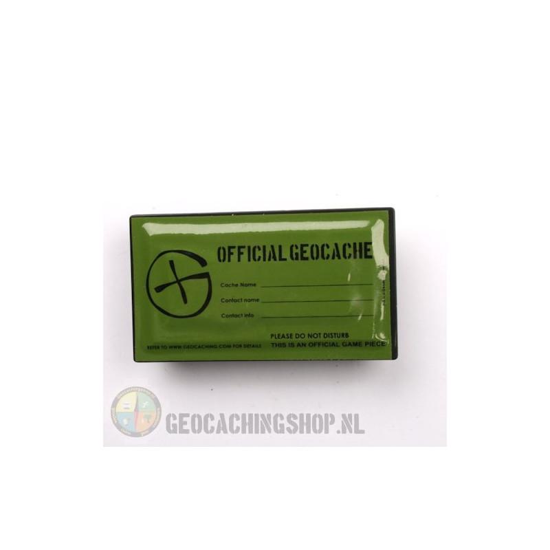 Magnetische rechthoekige Geocache Container -  8 x 4,5
