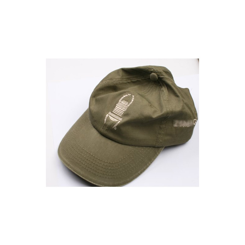Travel Cap - green with khaki