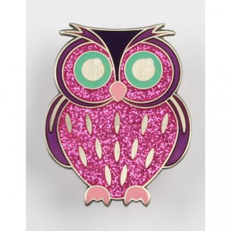 Owl Geocoin - Aurora