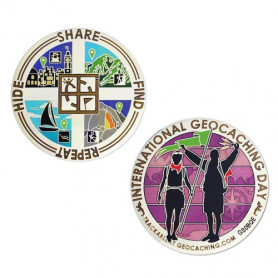 International Geocaching day 2014 Geocoin