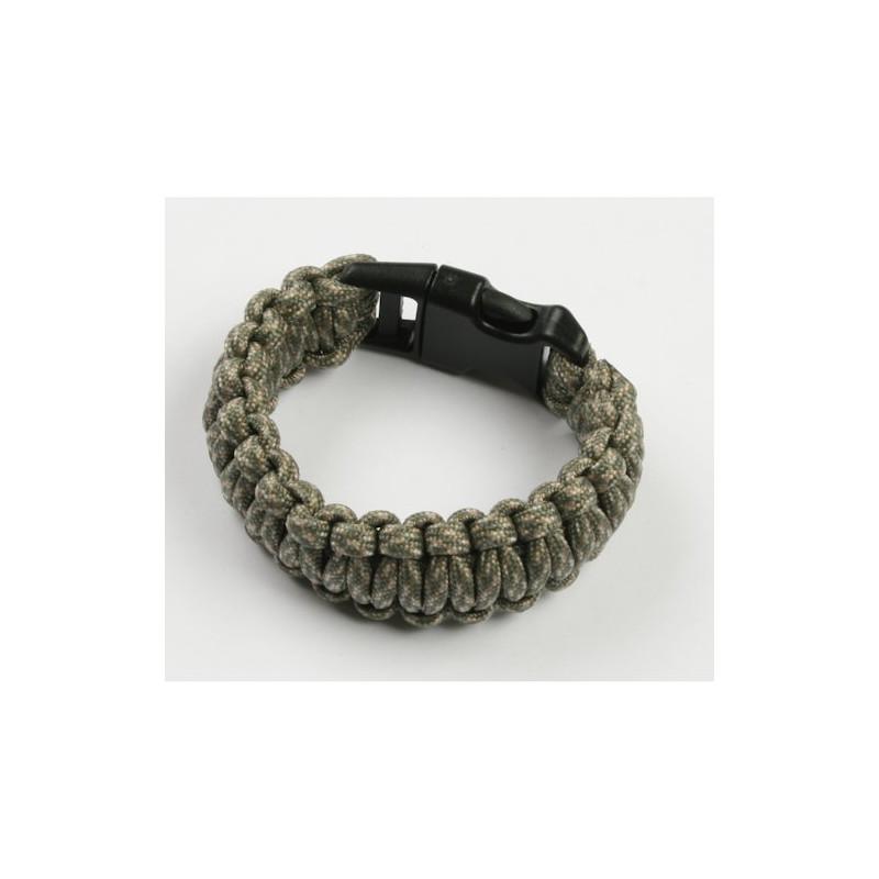 Paracord armband - Camo groen - S