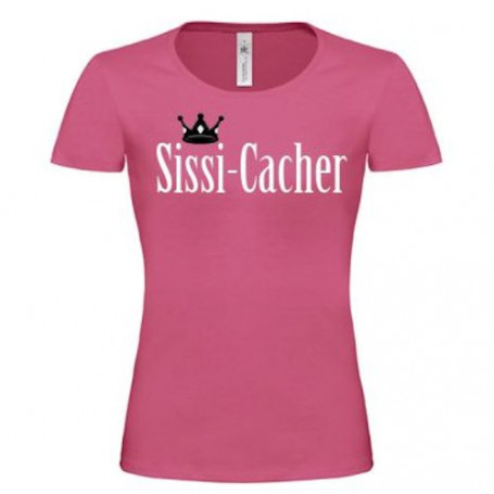 T-shirt - Sissi-Cacher (roze)