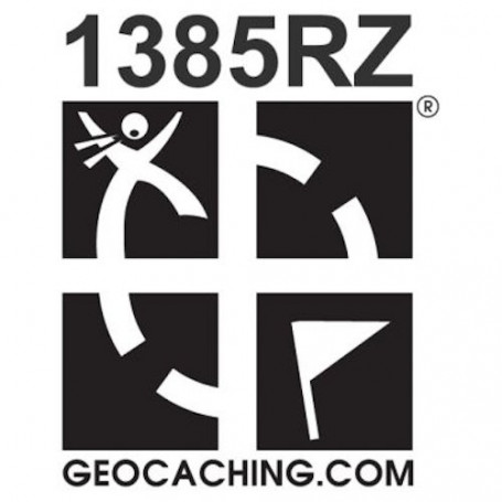 Geocaching.com trackable sticker