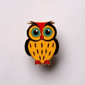 Baby Owl Geocoin - Ulmer-owl