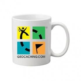 Coffee + tea Mug: Groundspeak Logo