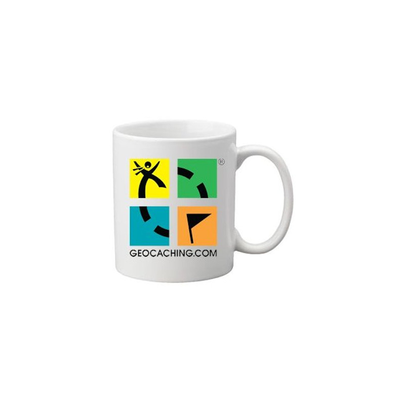 Coffee + tea Mug: Groundspeak Logo