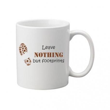 Kaffee + Teebecher: Footprints