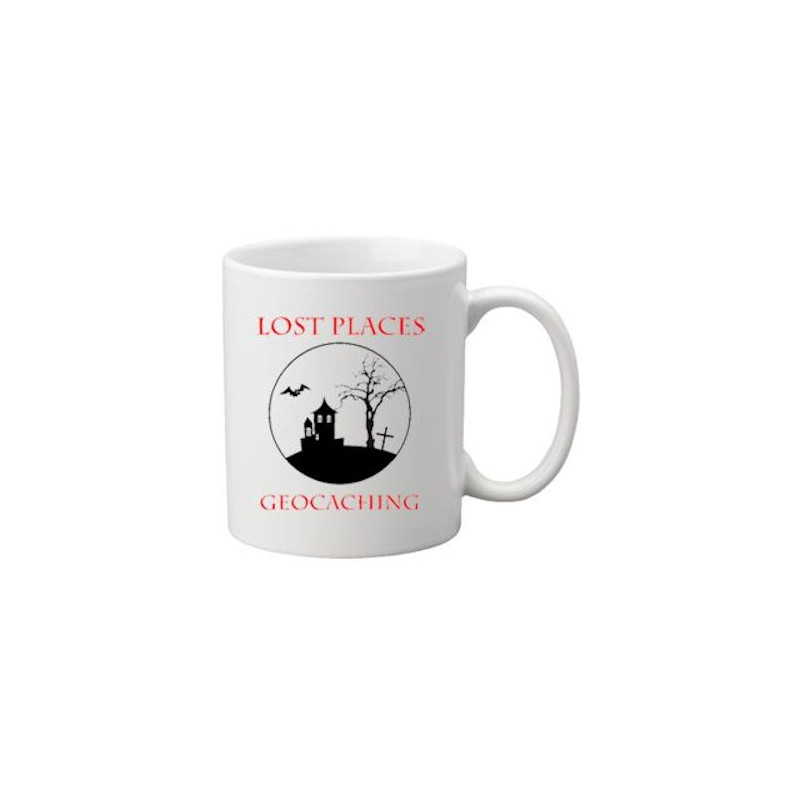 Koffie + thee mok: Lost places