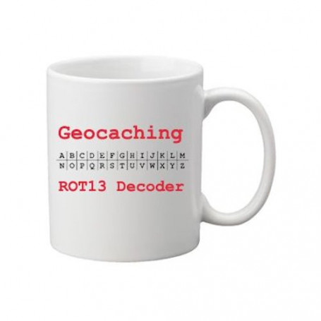 Koffie + thee mok: ROT 13 decoder