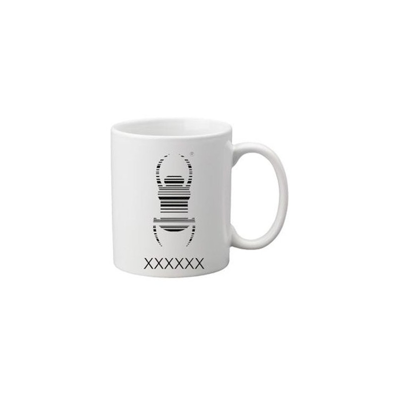 Coffee + tea Mug: Travelbug