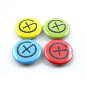 Button Set - Geocaching Logo (4 pieces)