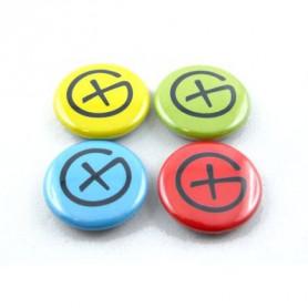 Button Set - Geocaching Logo (4 stück)