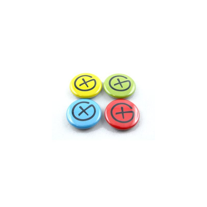 Button Set - Geocaching Logo (4 pieces)