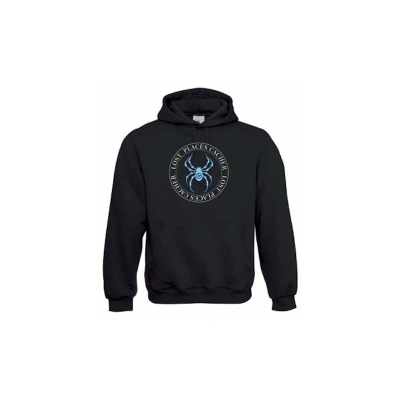 """Hoody """"Hoody """"Hoody """"Lost Places"""" - spider bluePlaces"""" - spider"""