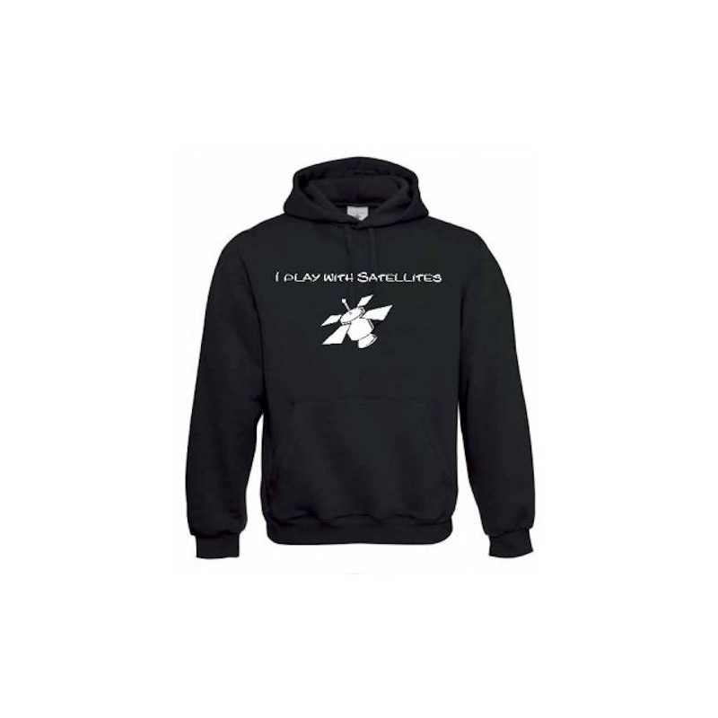 "Hoody ""I play with satelites"""