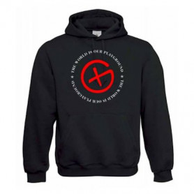 "Hoody ""Playground"" - red"