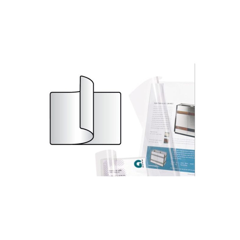 Self-laminating cards 66 x 100 mm