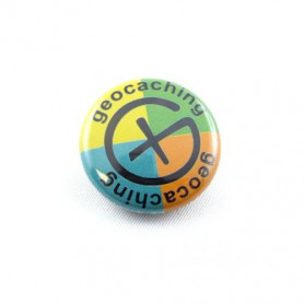 Button - Geocaching-4colors