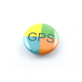 Button - GPS-4kleurig