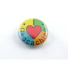 Button - I-Love-Geocaching-4kleurig