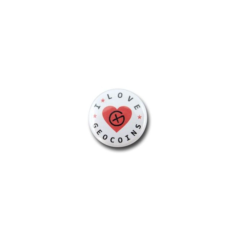 Button - I-Love-Geocoinsg-heart