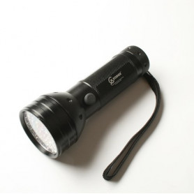 UV flashlight 51 LED black