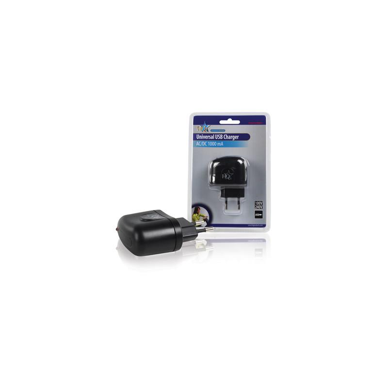 Universele USB lader 5V, 1000mA