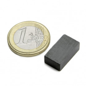 5 pieces Blokmagnet 18 x 10 x 6 mm