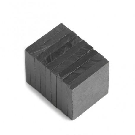 5 stuks Blokmagneet 20 x 20 x 3 mm