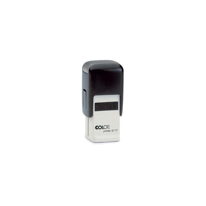 Log stempel - Printer - 17x17 mm - Eigen tekst/logo
