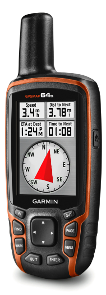GPSMAP 64s compass screen