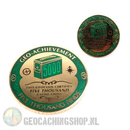Achievement Geocoin