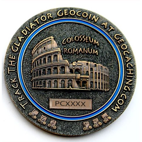Gladiator Geocoin