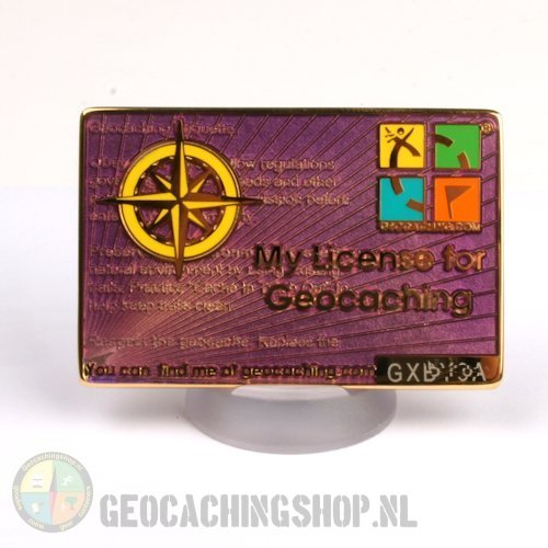 My Geocaching License