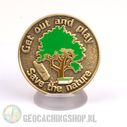 Save the Nature Geocoin