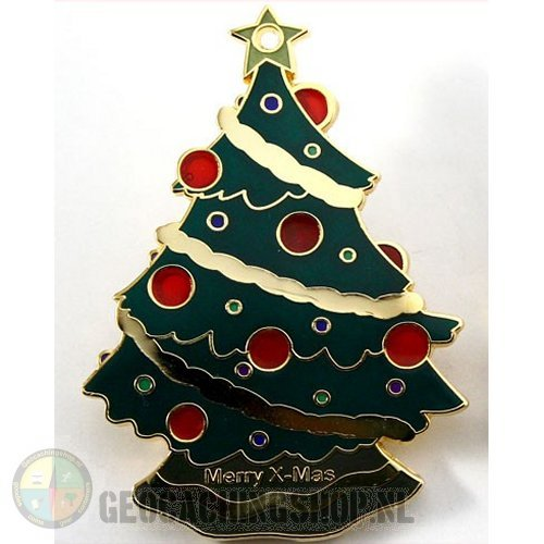 XMAS Tree Geocoin