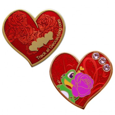 A gift of love Geocoin