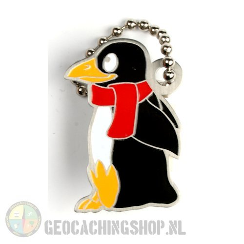 Travel tag pinguin