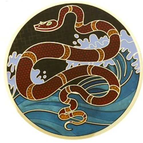 Year of the snake geocoin